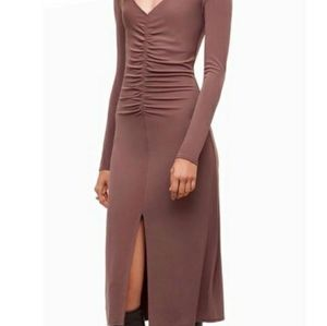 Wilfred Aritzia Aveyron Dress - Carbon - S…